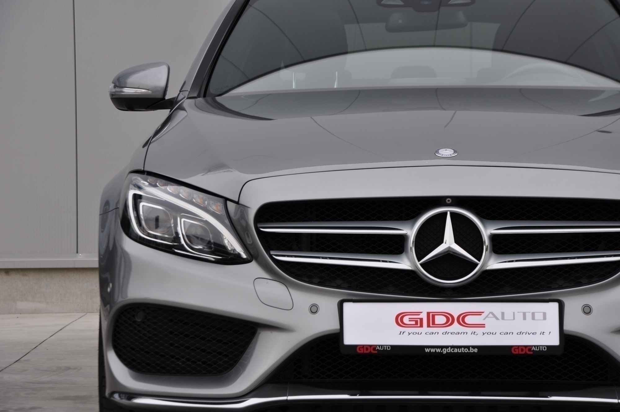GDC Auto Mercedes-Benz C 220 AMG PACK - OPEN DAK - LEDER - HEAD UP-DISPLAY